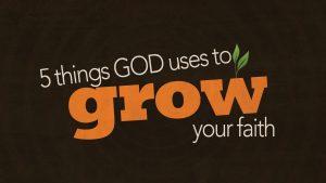 5 Things God Uses To Grow Your Faith